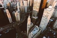 White High-rise Buildings