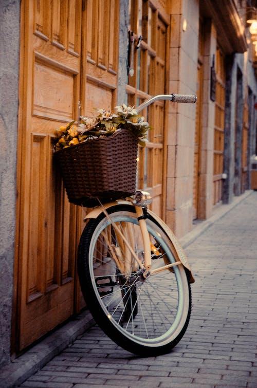 Immagine gratuita di bicicletta, edificio, facciata, facciata di edificio