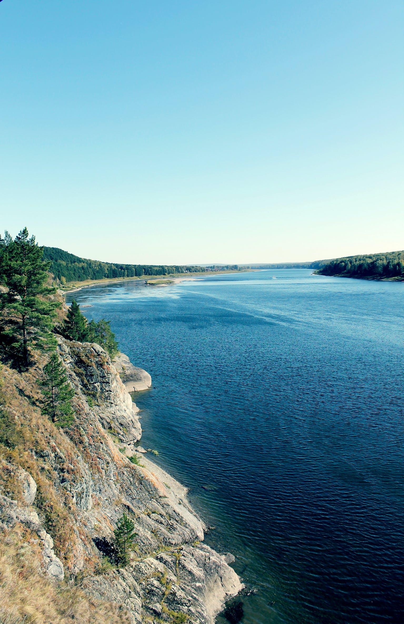 Free stock photo of река, siberia