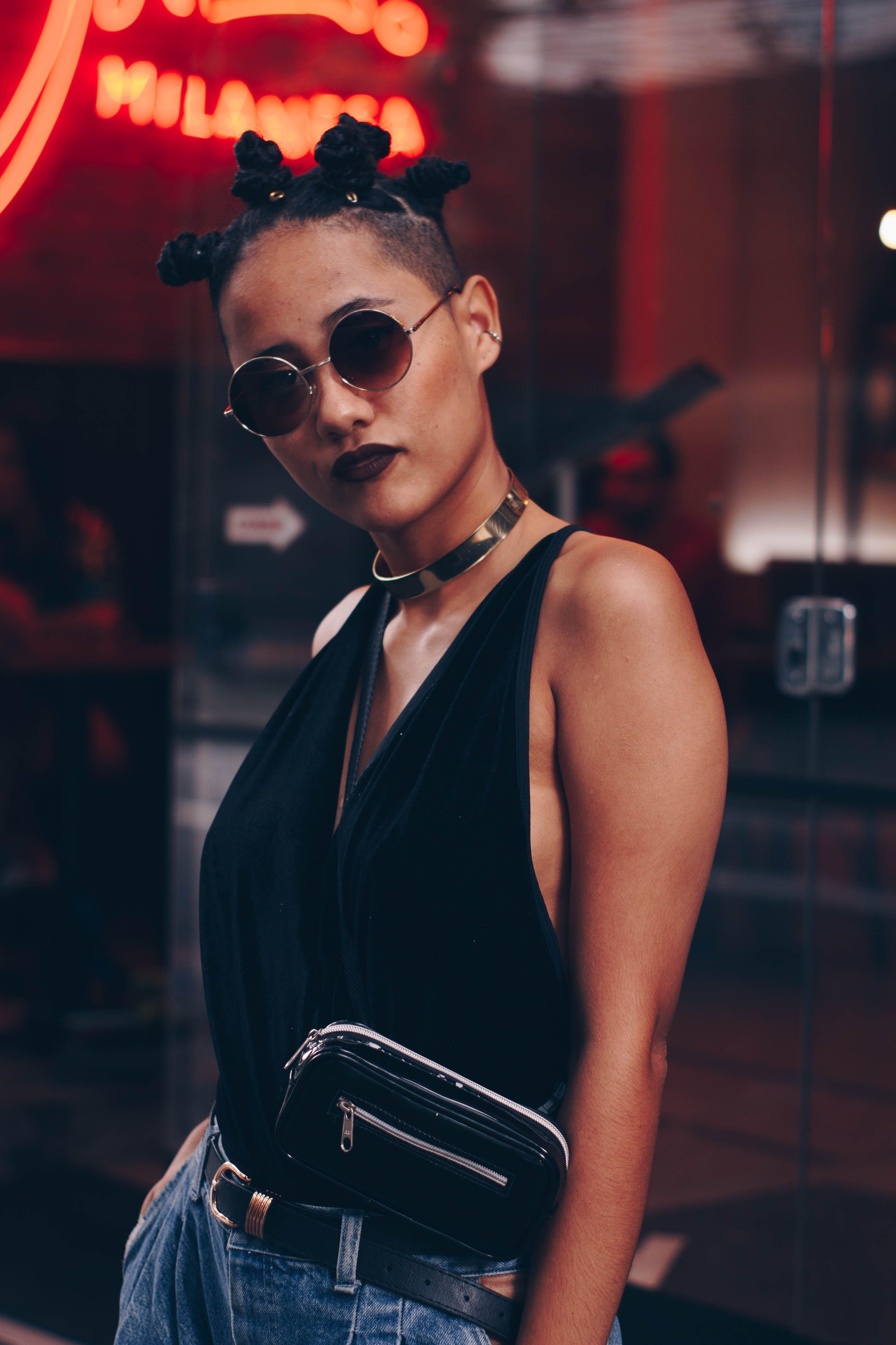 매력적인, 모델, 선글라스, 스타일의 무료 스톡 사진
