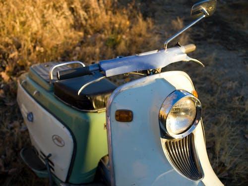 Darmowe zdjęcie z galerii z fuji rabbit jr, motocykl, skuter, staroświecki