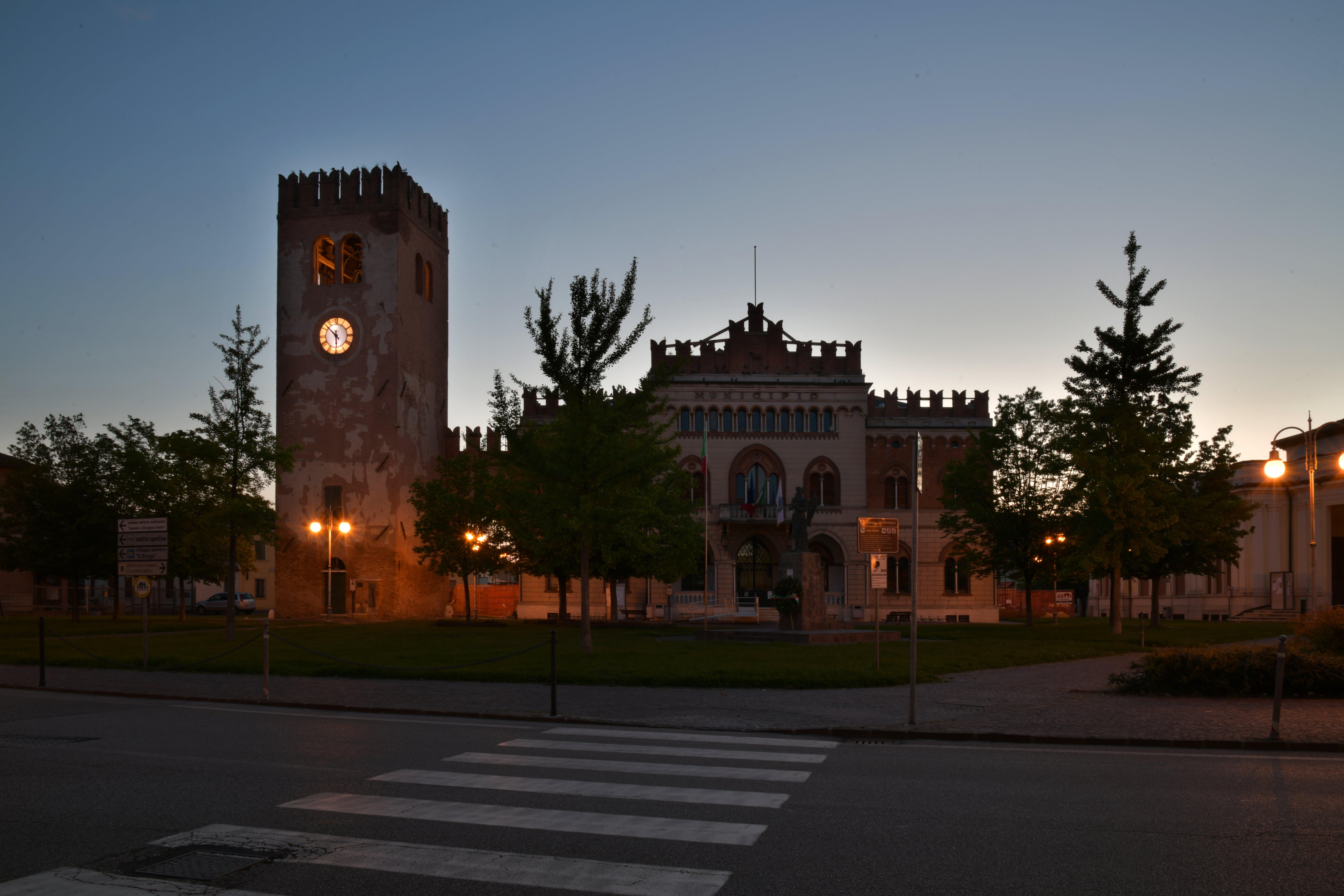 Foto d'estoc gratuïta de castell, Itàlia, torre del rellotge