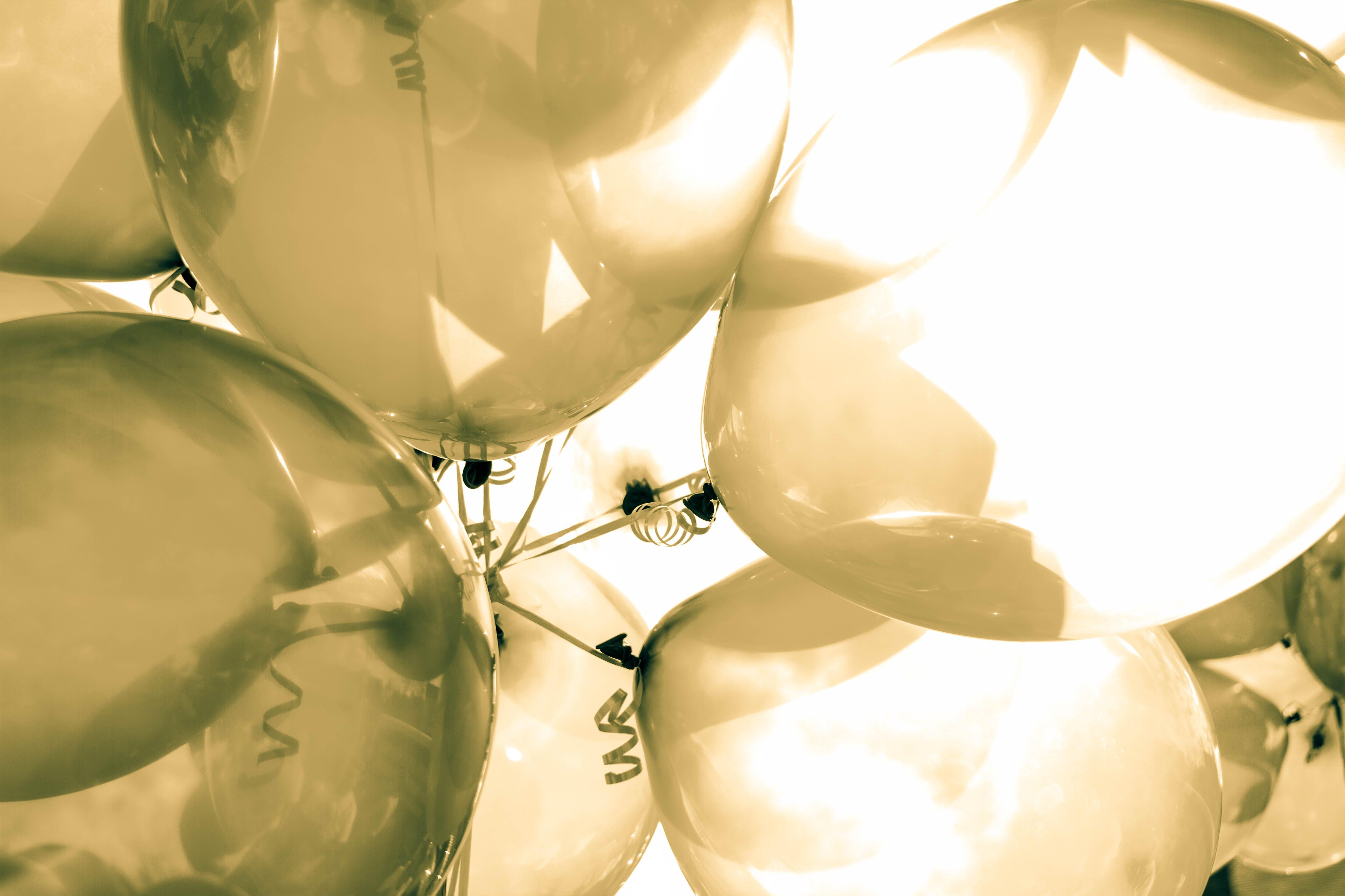Kostenloses Stock Foto zu grün, ballons, nahansicht