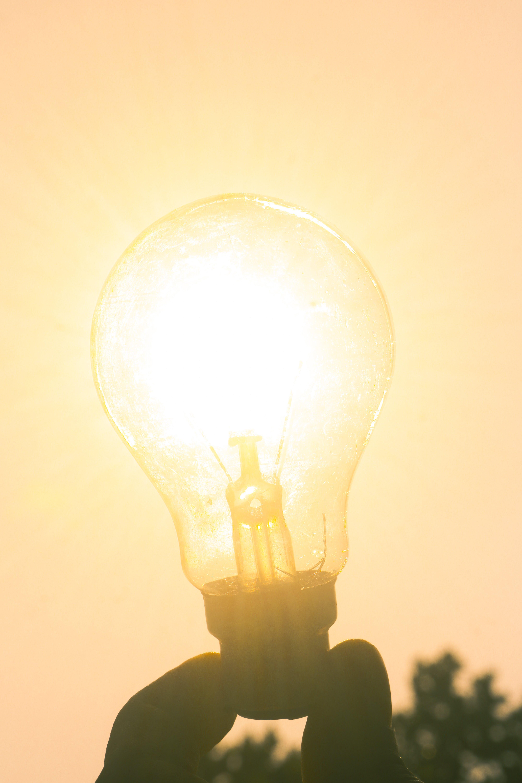Gratis arkivbilde med baklys, energi, glødende, lyspære