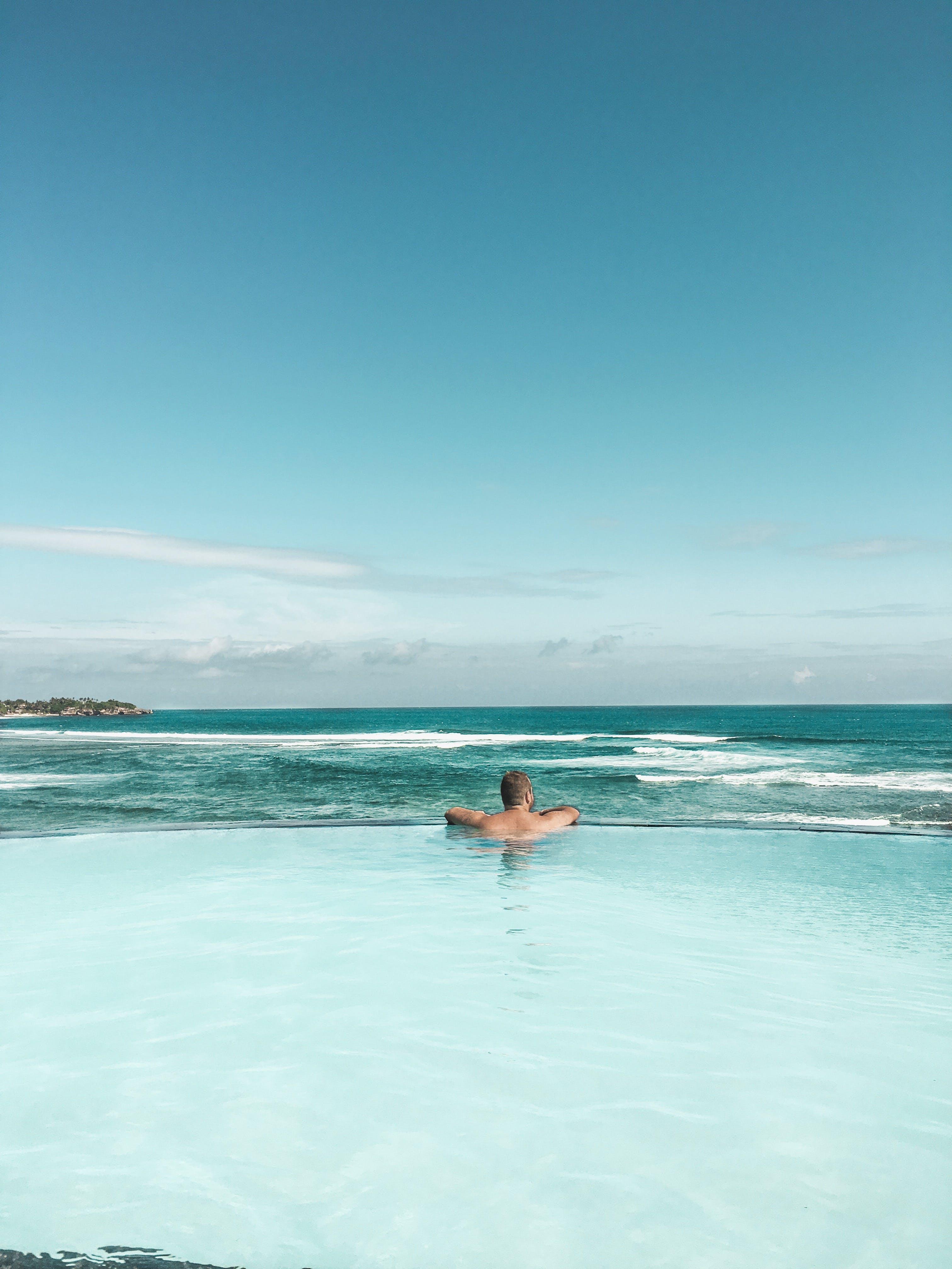Kostenloses Stock Foto zu baden, draußen, entspannung, erholung