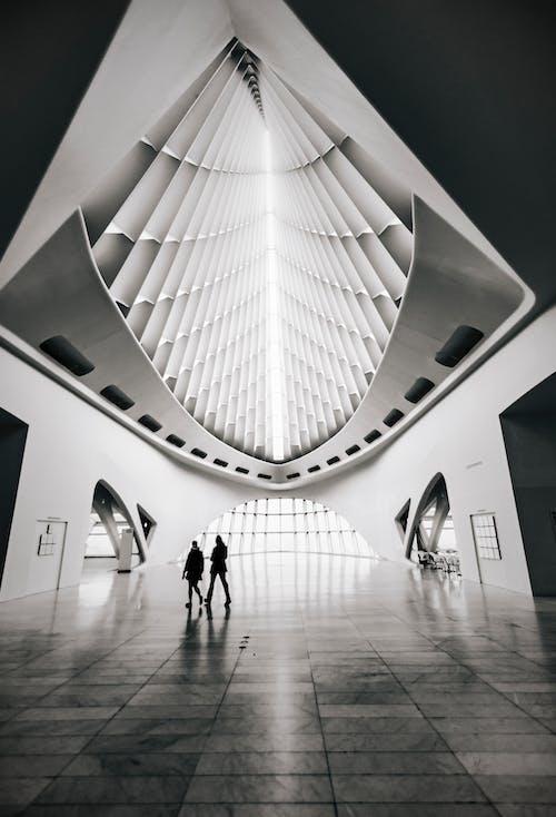 Darmowe zdjęcie z galerii z architektura, budynek, czarno-biały