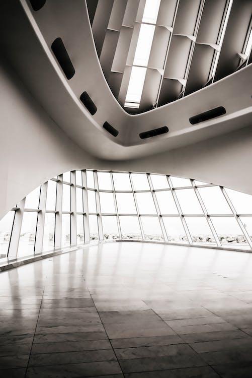arkkitehtuuri, futuristinen, moderni