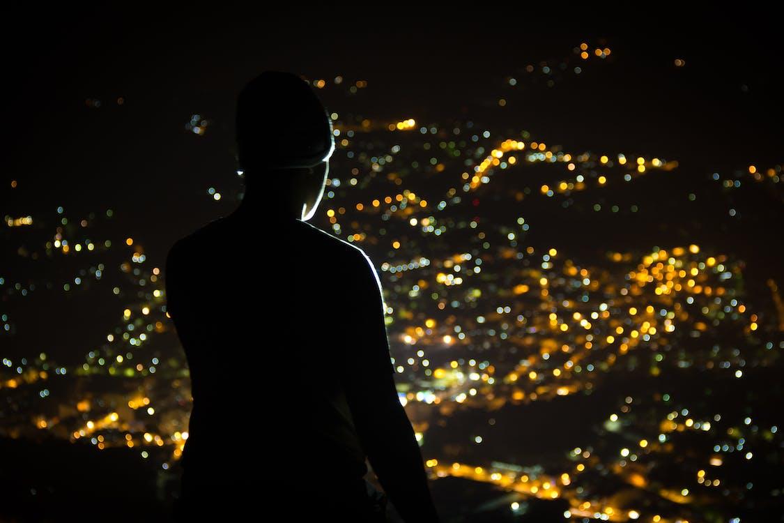 ilta, kaupunki