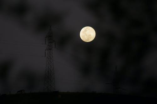 Δωρεάν στοκ φωτογραφιών με απόγευμα, σελήνη