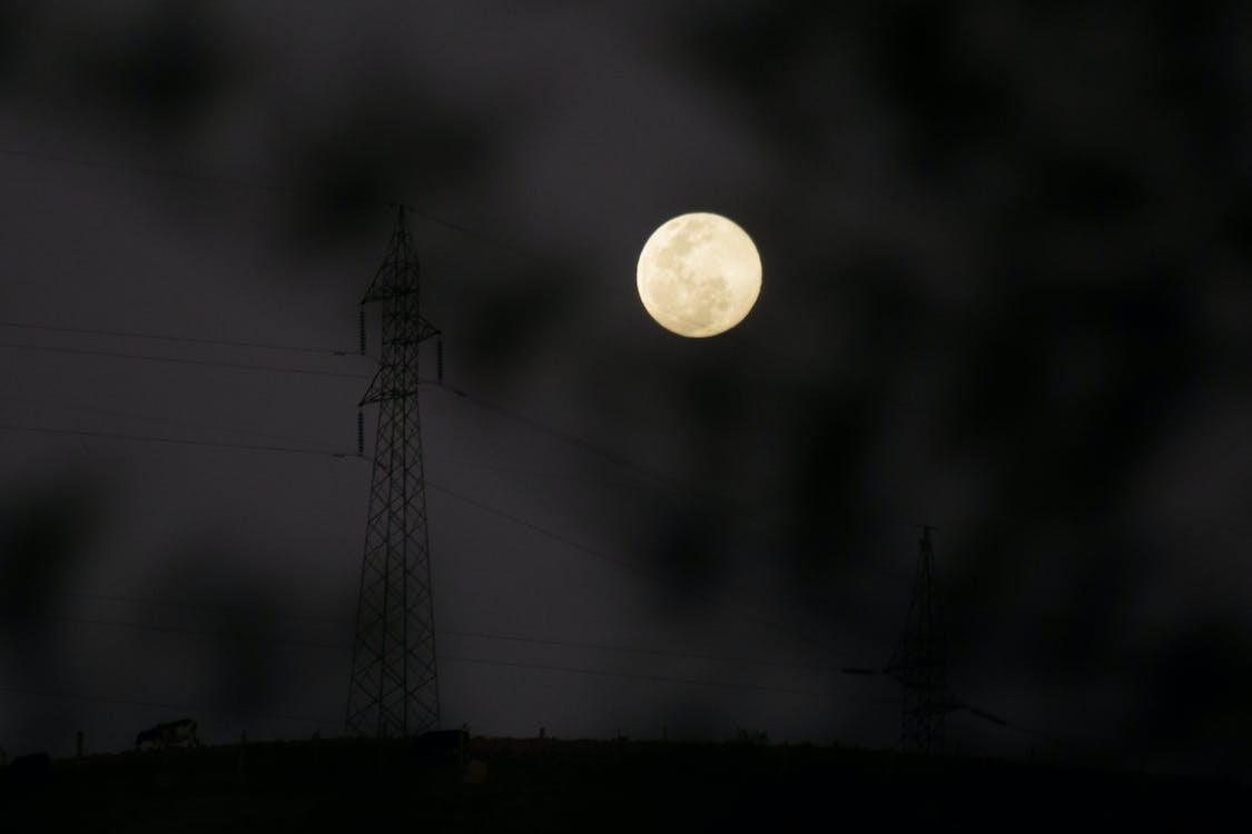 lluna, vesprada, vespre