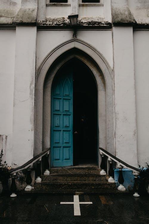 エントランス, クロス, ドア, バシリカの無料の写真素材