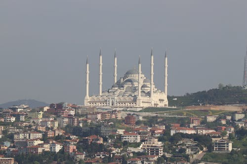 Free stock photo of binalar, cami, çamlıca, islam