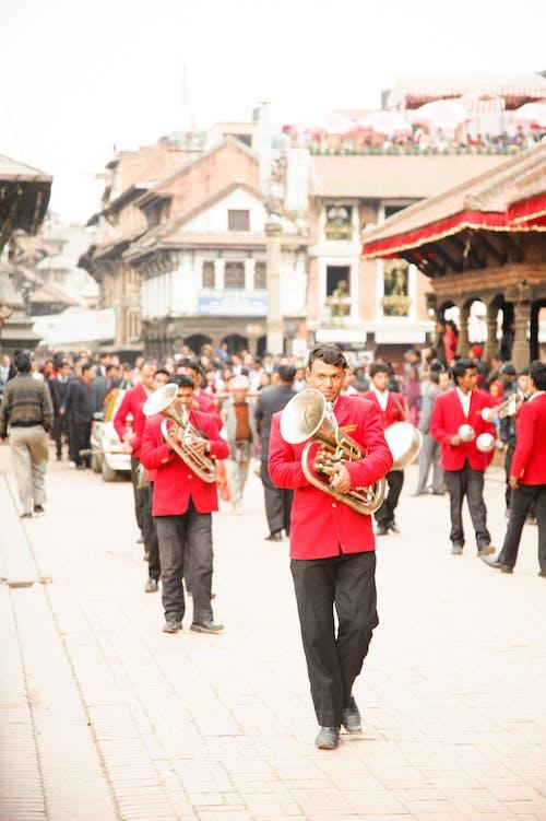 Безкоштовне стокове фото на тему «люди, Непал, непальська, червоний»