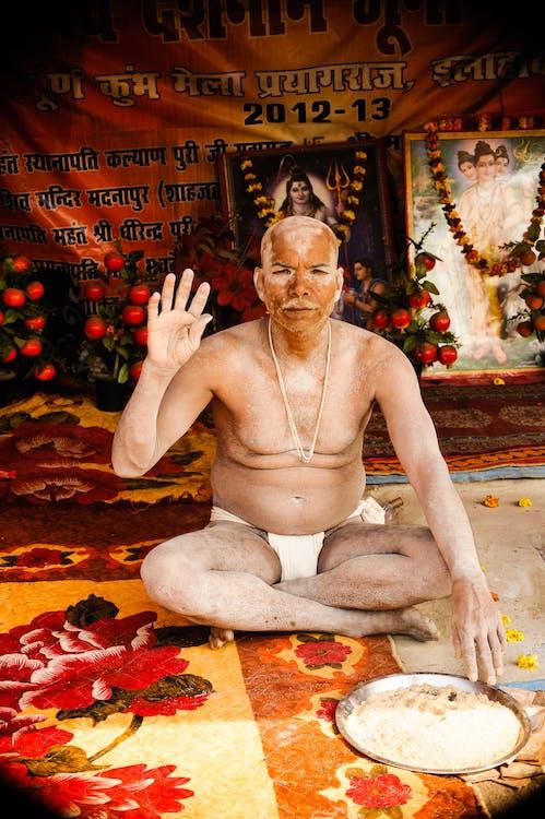 adult, bărbat indian, călugăr
