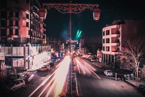Free stock photo of #long_exposure #city #road #200