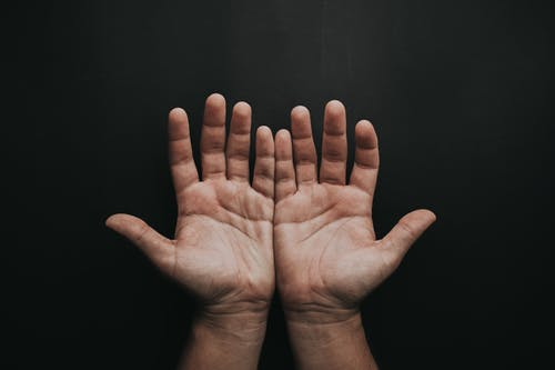 Photo Of Person's Open Hands