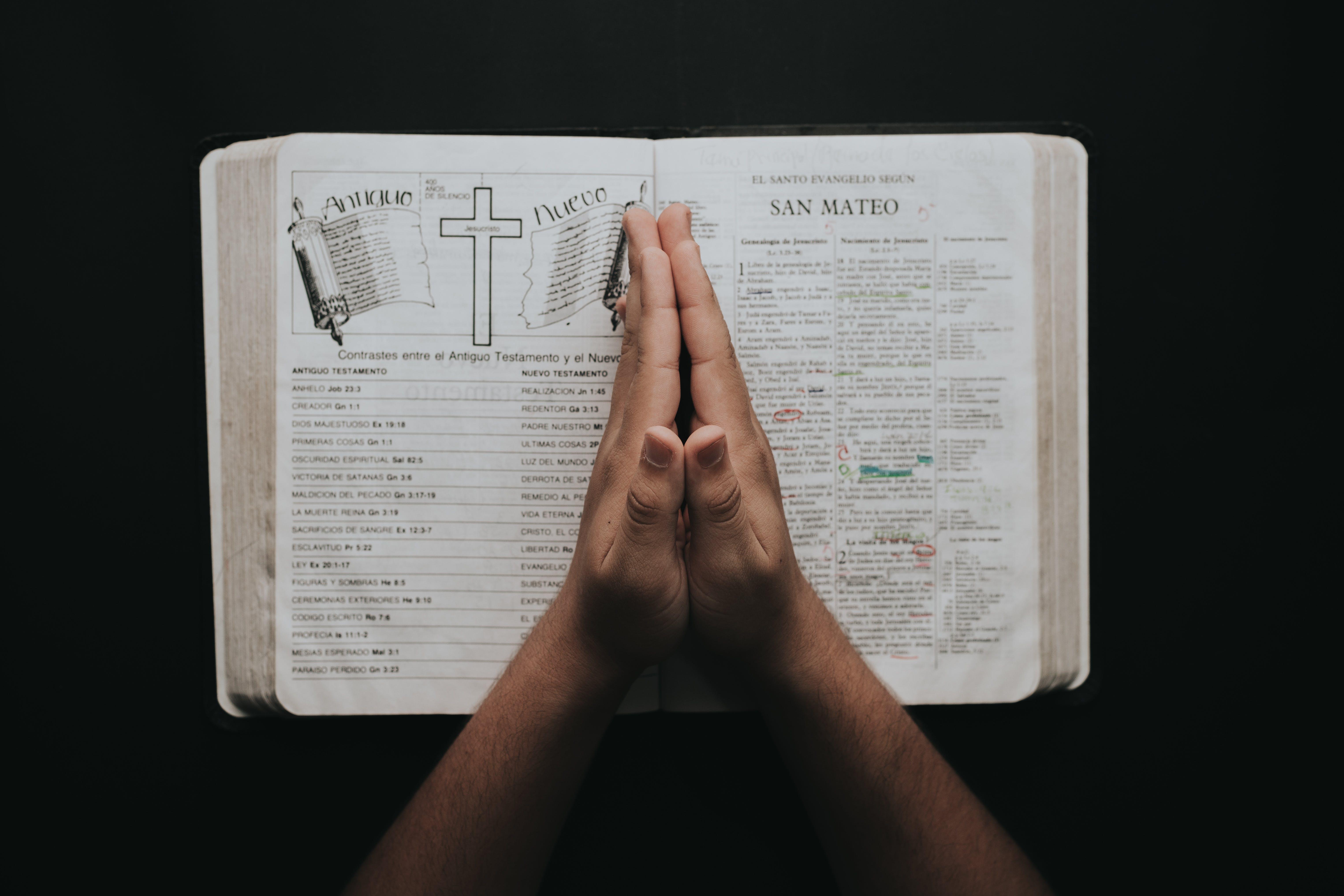 信仰, 手, 書, 聖經 的 免费素材照片