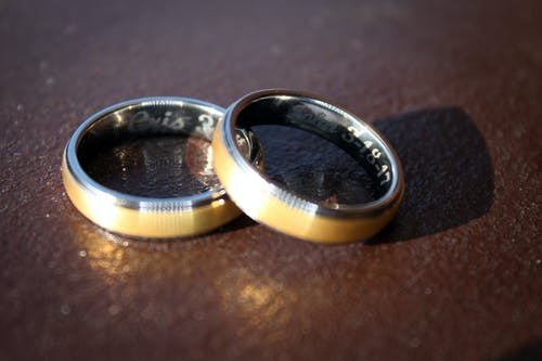 Free stock photo of couple, married, wedding ring