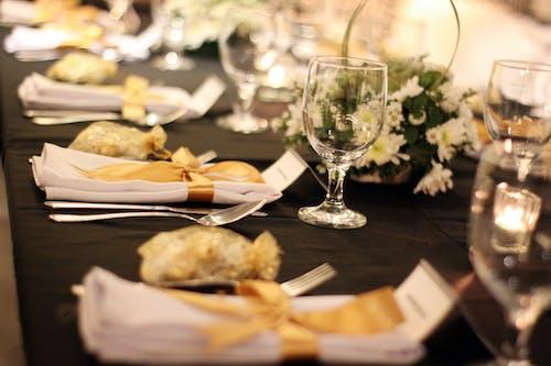 Free stock photo of dining, elegant, table