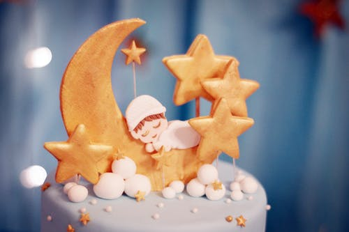 Free stock photo of baby, cake, design, Pondant Cake