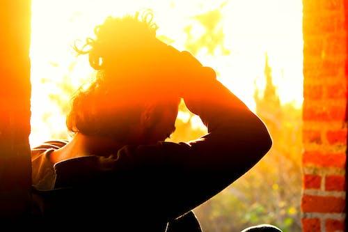 Foto d'estoc gratuïta de #models, #naturalesa, blogger, bollo de cabell