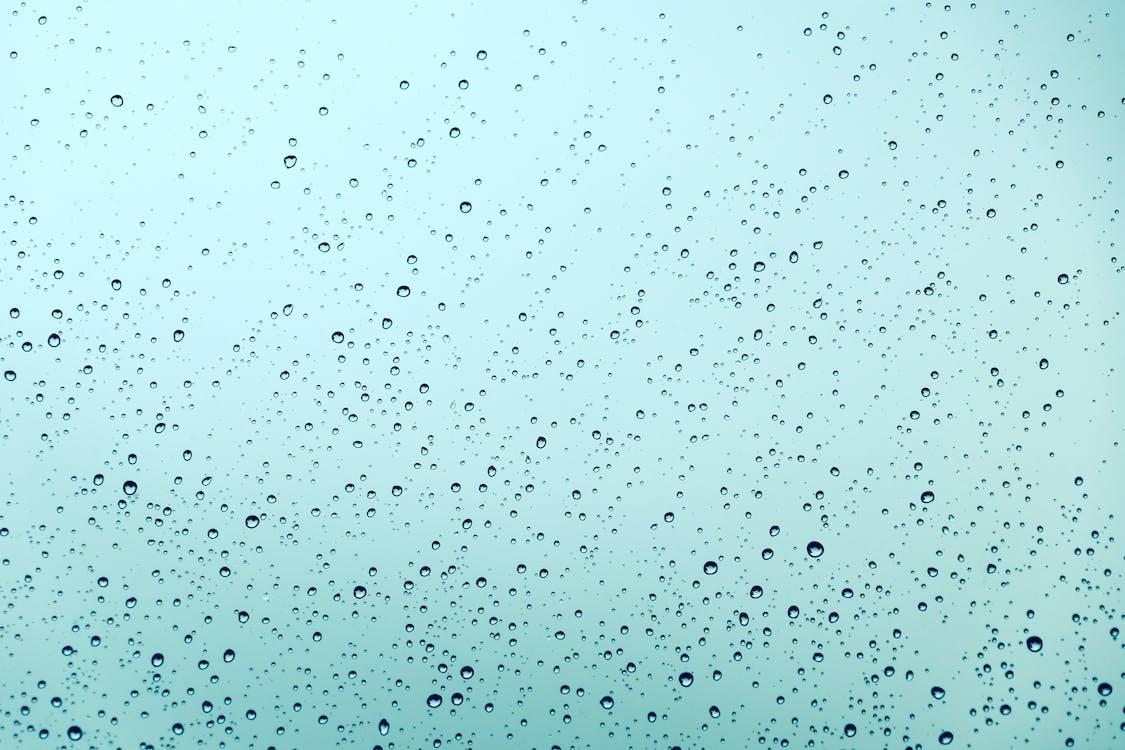 абстрактный, дождь, капельки воды