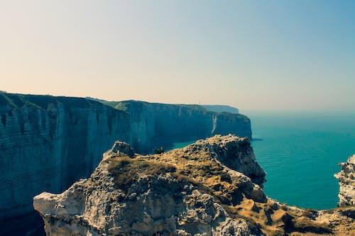 Free stock photo of beach, cliff, cliff coast, etretat