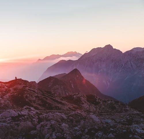 Free stock photo of alps, autumn, hike, mountain