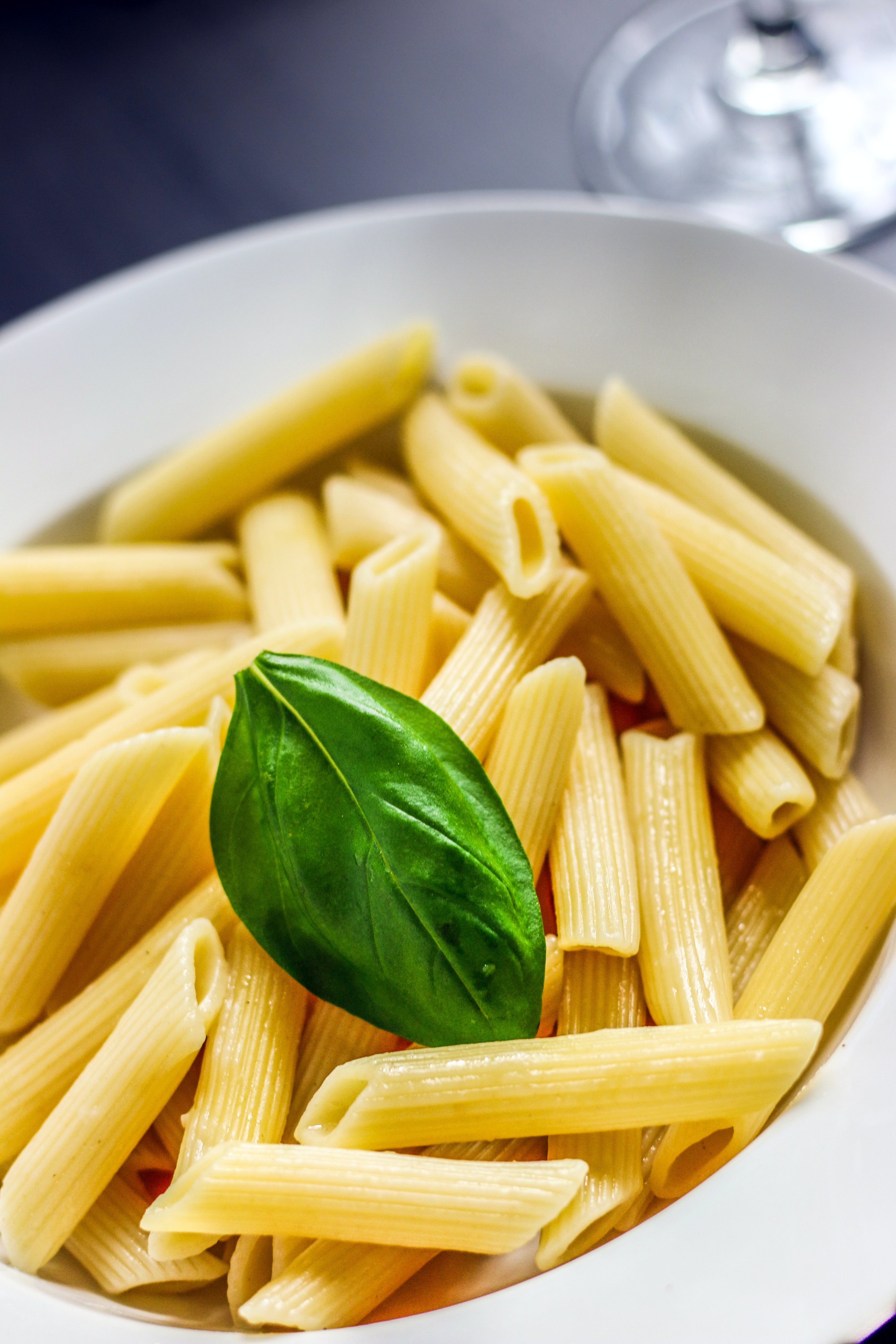 License Plate Size >> Yellow Pasta on Table · Free Stock Photo