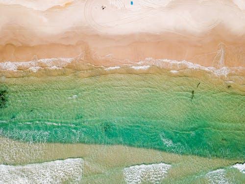 Aerial View Photo of Beach Shoreline