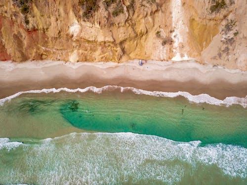 Gratis lagerfoto af bølger, dagslys, dronefotografering, droneoptagelse