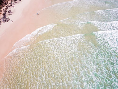 Безкоштовне стокове фото на тему «аерознімок, берег, берег моря, берегова лінія»