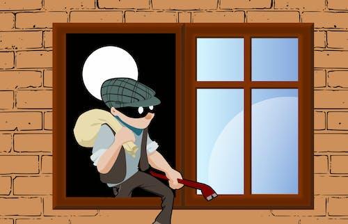 Free stock photo of arrest, burglar, burglary, Climbs
