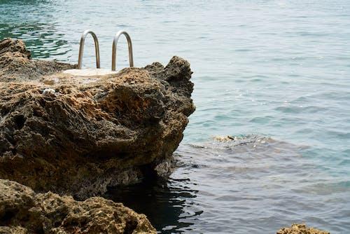 경치, 경치가 좋은, 락, 물의 무료 스톡 사진