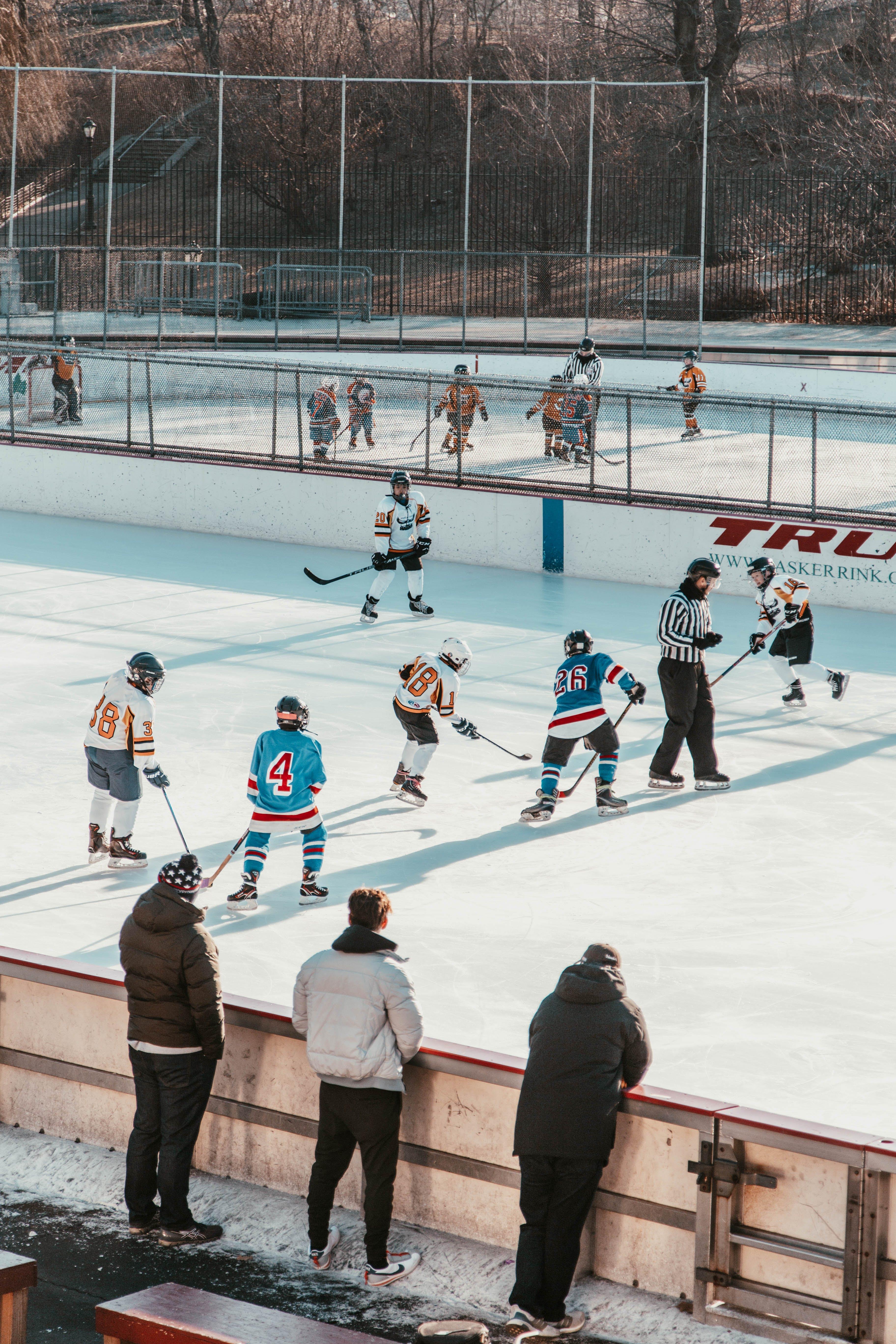冰球, 娛樂, 播放, 滑冰 的 免费素材照片