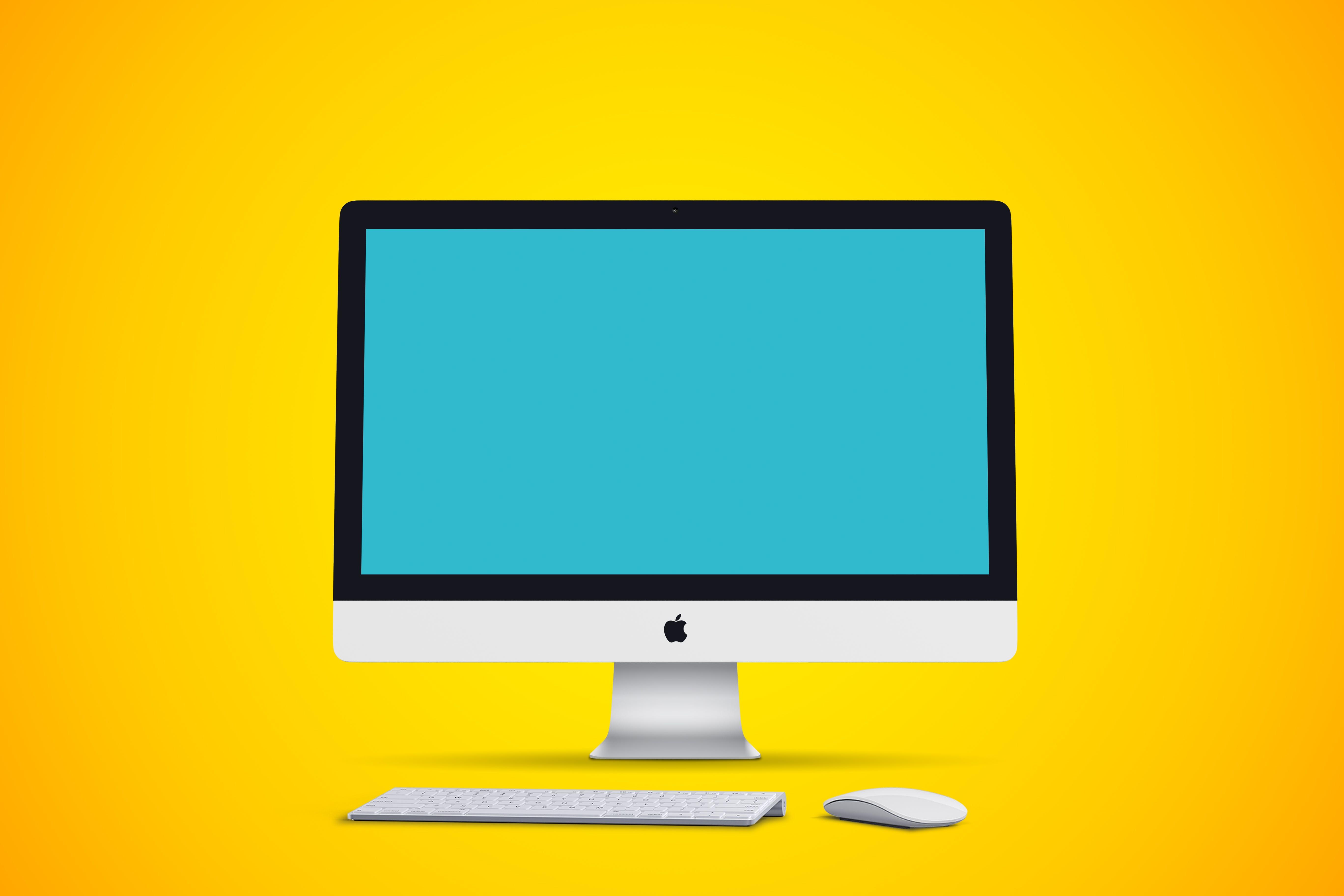 Gratis arkivbilde med apple, datamaskin, datatastatur, imac