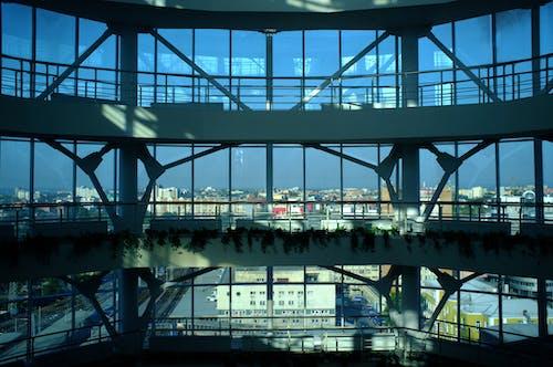 Free stock photo of blue, building, city, hi-tech