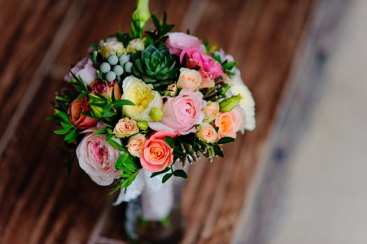 1000 engaging flower arrangement photos pexels free stock photos yellow pink and orange flower bouquet mightylinksfo