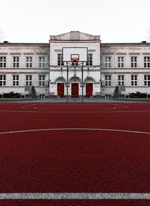 Бесплатное стоковое фото с баскетбольная площадка