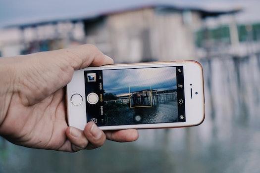 Free stock photo of landscape, selfie, iphone 5s