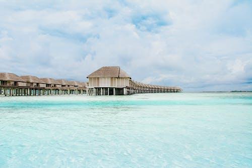 Бесплатное стоковое фото с бунгало, виллы, гостиница, индийский океан