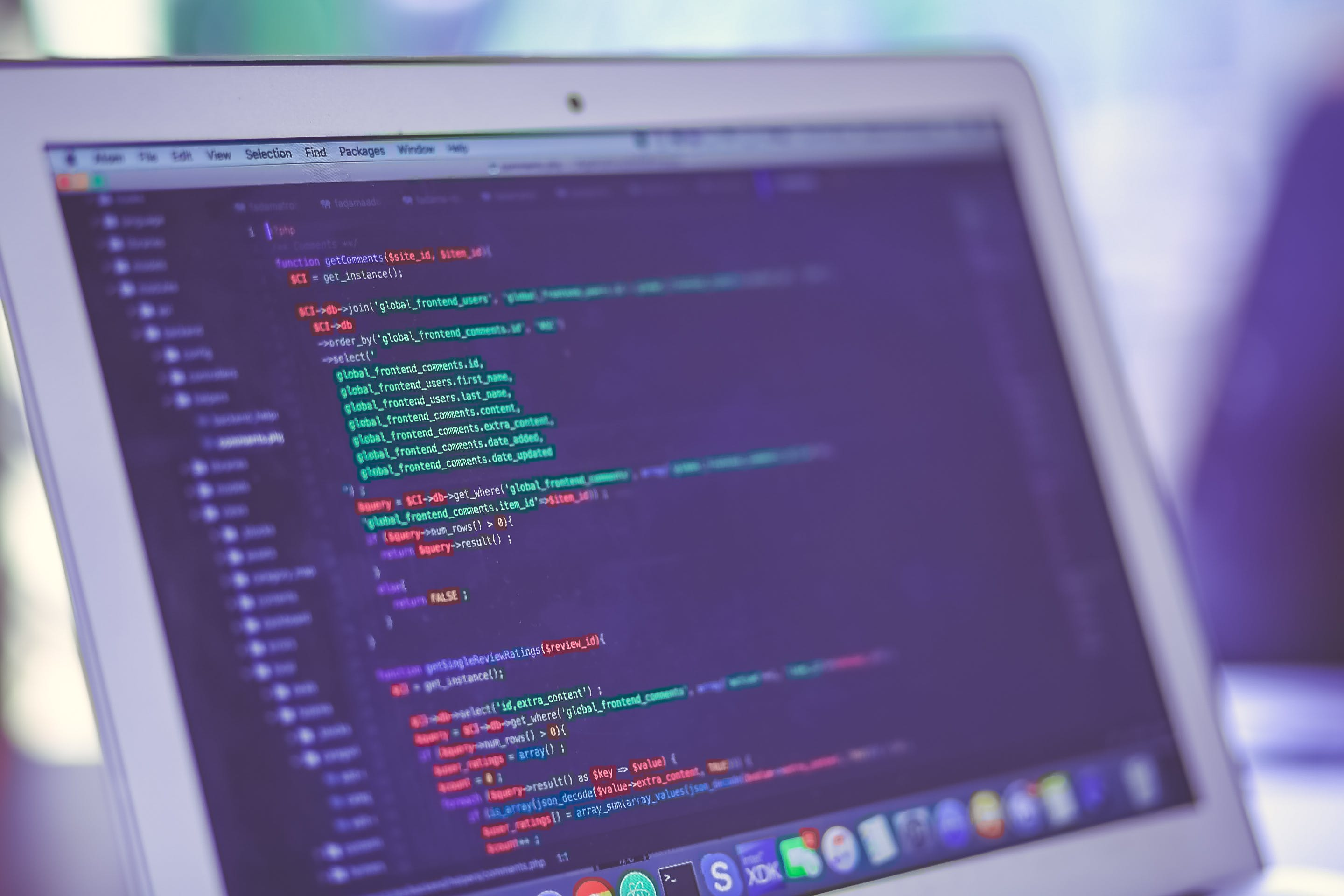 Free stock photo of code
