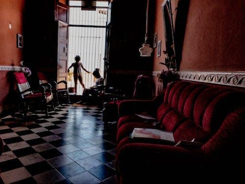 Бесплатное стоковое фото с в помещении, дверь, диван, дизайн