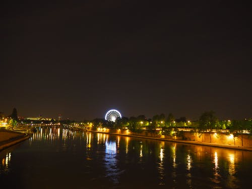 Free stock photo of carousel, paris, river