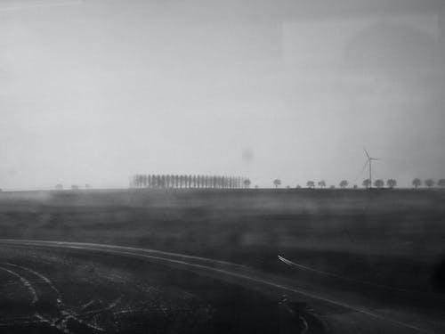 Gratis stockfoto met bomen, Frankrijk, landschap, mist