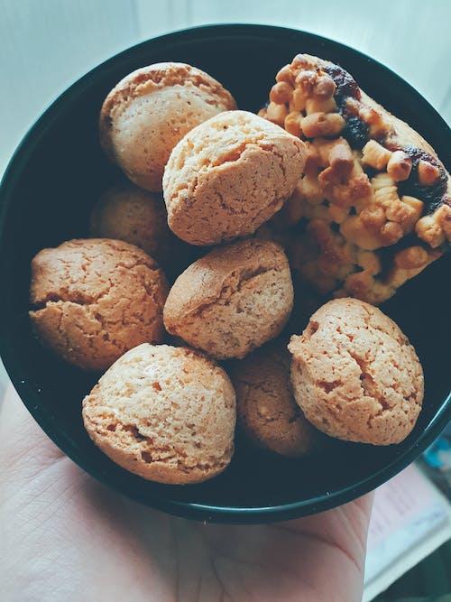 คลังภาพถ่ายฟรี ของ การทำอาหาร, ขนมขบเคี้ยว, ของหวาน, ขัน