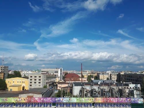 bulutlar, güneşli, Mavi gökyüzü, spor içeren Ücretsiz stok fotoğraf