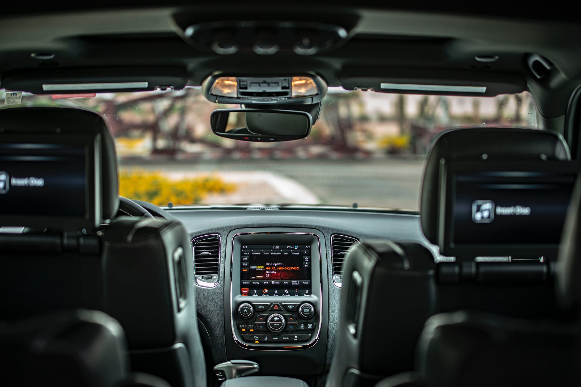 Photo of a interior of a car