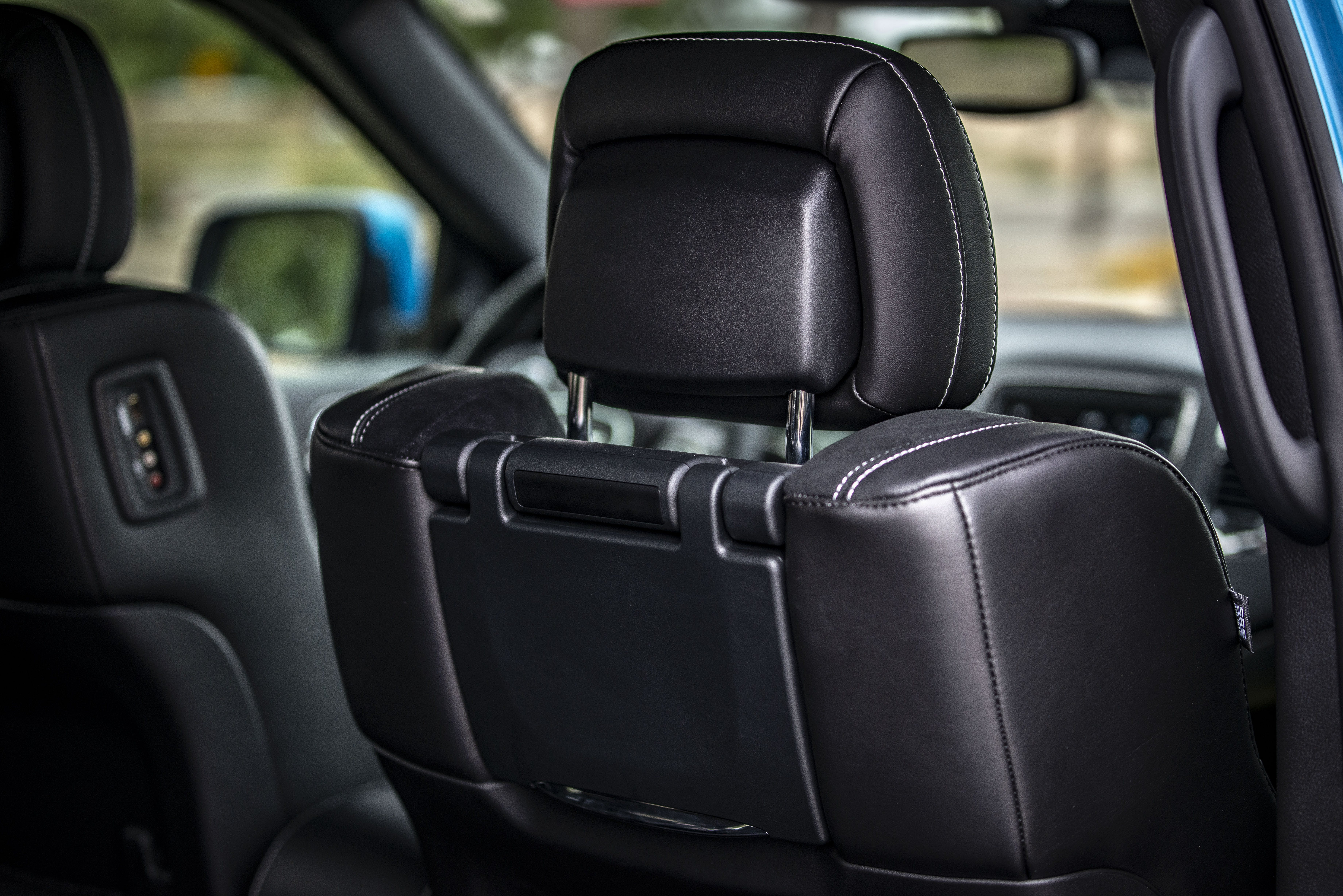 Close Up Photo of Black Leather Car Seat