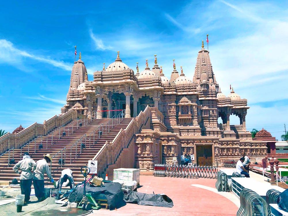 chrám, držte svoju archu, hinduistický